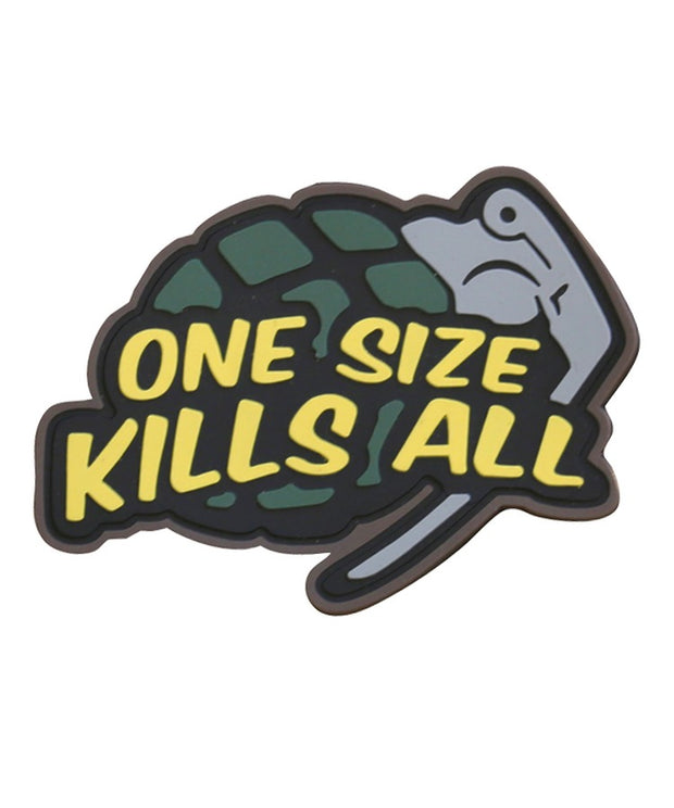 One size kills all- Tactical velcro patch