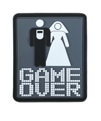Game Over-Tactical velcro patch