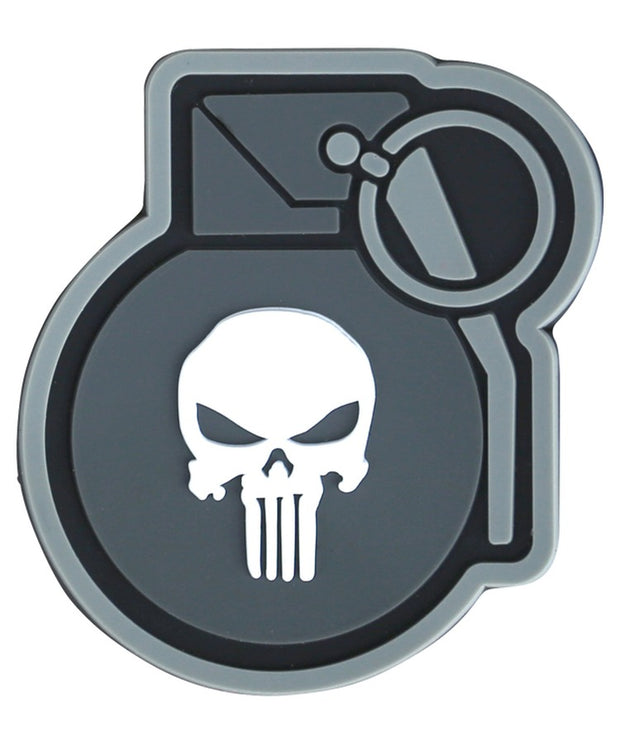 Punisher grenade-Tactical velcro patch
