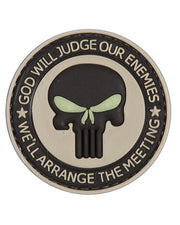 God will judge-Tactical velcro patch