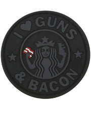 Guns and bacon-Tactical velcro patch