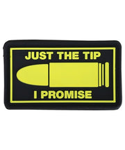 Just the tip-Tactical velcro patch