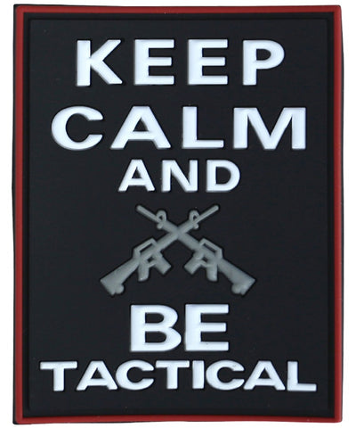 Keep calm and be tactical-Tactical velcro patch