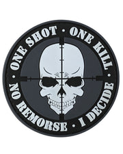 One shot,one kill-Tactical velcro patch