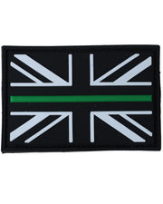 Thin Green line-Tactical velcro patch  Airsoft Kombat UK - The Back Alley Army Store