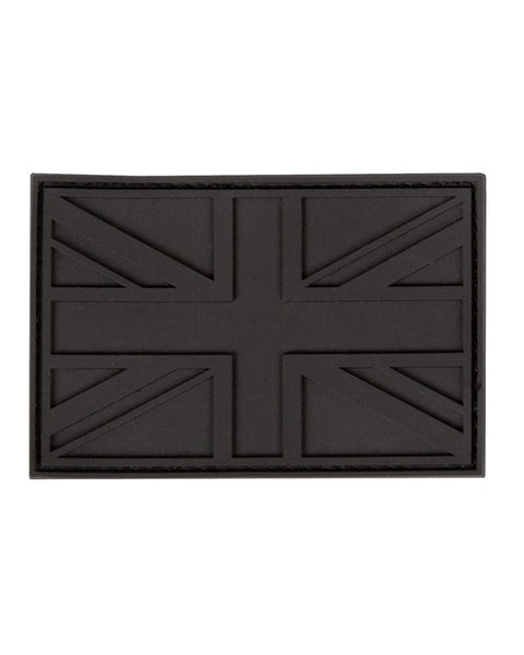U.K Stealth Tactical velcro patch-Black  Airsoft Kombat UK - The Back Alley Army Store
