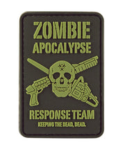 Zombie Apocalypse-Tactical velcro patch