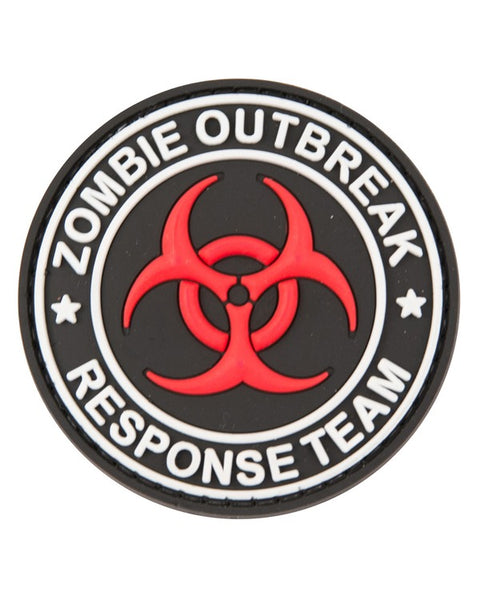 Zombie outbreak-Tactical velcro patch  Airsoft Kombat UK - The Back Alley Army Store