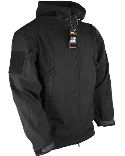 Patriot softshell sharkskin-Black