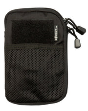 pocket buddy- black. pocket organiser molle phone pouch