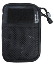 pocket buddy-btp black. pocket organiser molle phone pouch