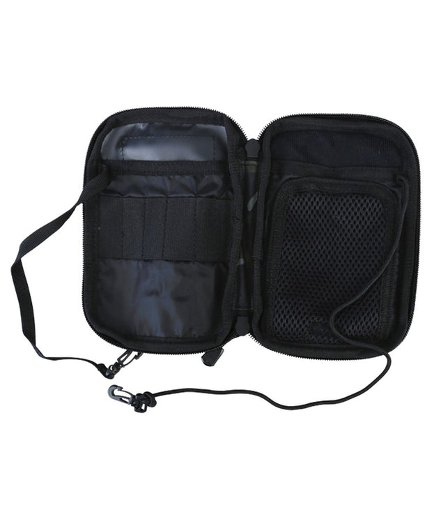 Pocket buddy-BTP Black pocket organiser molle phone pouch