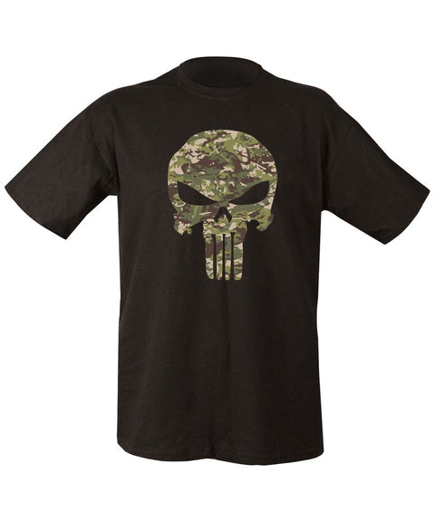 Punisher T-shirt-BTP  Clothing Kombat UK - The Back Alley Army Store