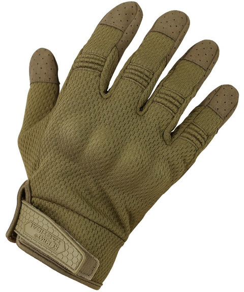 Recon gloves S / COYOTE Airsoft Kombat UK - The Back Alley Army Store