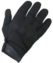 Recon gloves S / BLACK Airsoft Kombat UK - The Back Alley Army Store