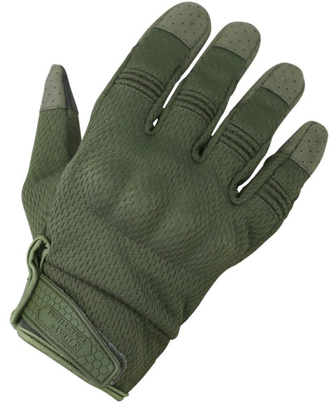 Recon gloves S / OLIVE Airsoft Kombat UK - The Back Alley Army Store