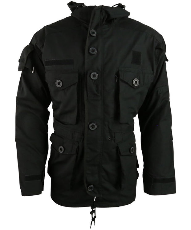 S.A.S Style assault jacket-Black