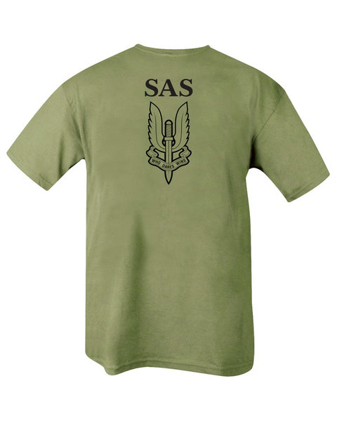 S.A.S T-shirt  Clothing Kombat UK - The Back Alley Army Store
