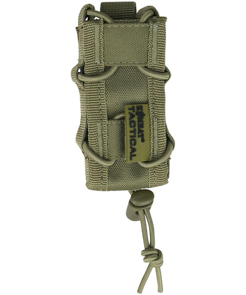 Single pistol mag pouch COYOTE Airsoft Kombat UK - The Back Alley Army Store
