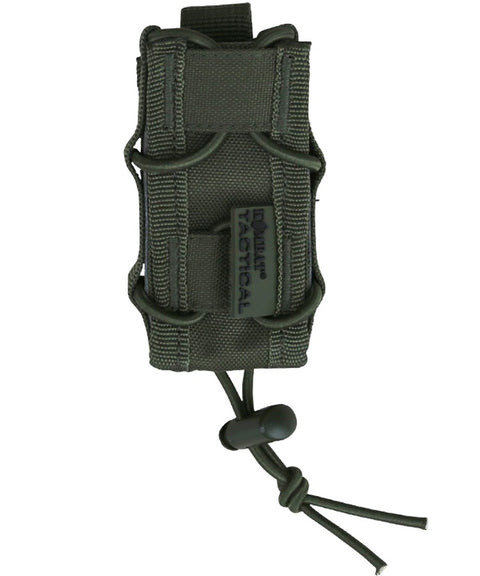 Single pistol mag pouch OLIVE Airsoft Kombat UK - The Back Alley Army Store