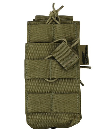 Single duo mag pouch-Coyote