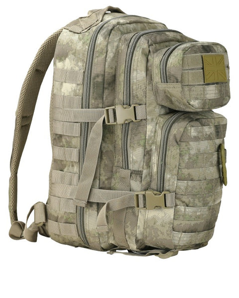 Small Molle Assault Pack 28ltr Smudge  Bag Kombat UK - The Back Alley Army Store