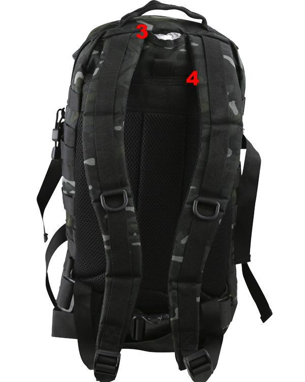 Small molle assault pack 28ltr-BTP black