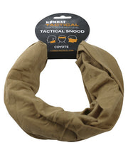 Tactical snood-Coyote  headwear Kombat UK - The Back Alley Army Store