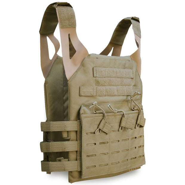 Viper-Special Ops plate carrier-Coyote  Airsoft Viper Tactical - The Back Alley Army Store