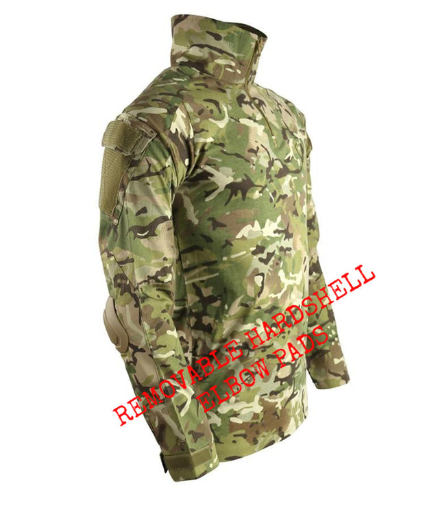 Spec-ops UBACS-BTP built in elbow pads british camo long sleeved ubacs