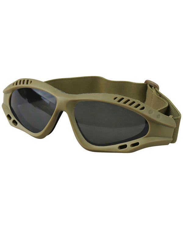 Spec-ops glasses COYOTE Airsoft Kombat UK - The Back Alley Army Store