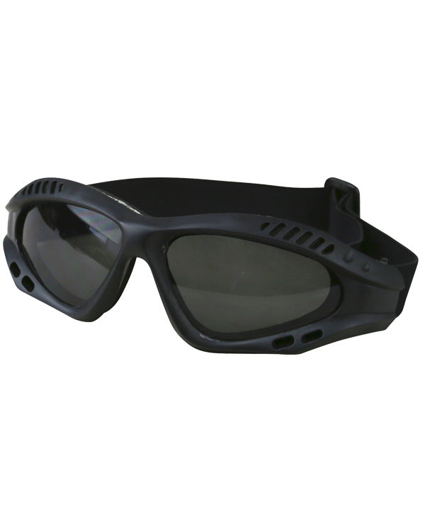 Spec-ops glasses BLACK Airsoft Kombat UK - The Back Alley Army Store