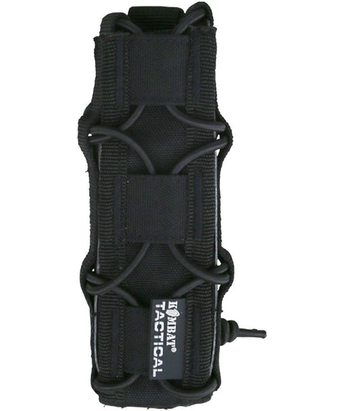 Spec.ops Extended pistol mag pouch BLACK Airsoft Kombat UK - The Back Alley Army Store
