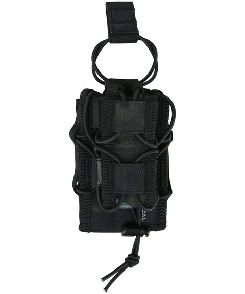 Spec- ops stacker mag BTP BLACK Airsoft Kombat UK - The Back Alley Army Store