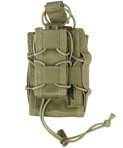 Spec- ops stacker mag COYOTE Airsoft Kombat UK - The Back Alley Army Store