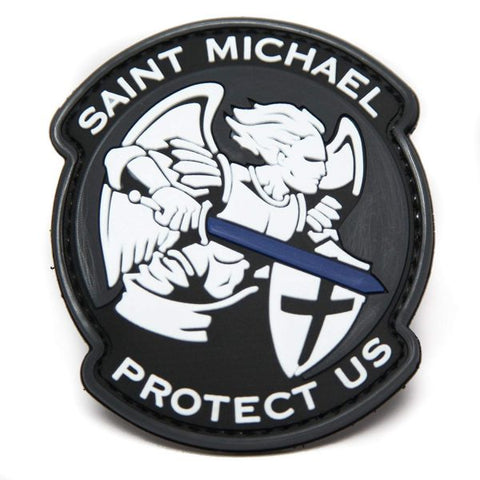St Michael Protect Us  Airsoft Sourced by Back Alley - The Back Alley Army Store
