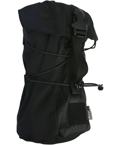 Stuffer pouch-black. For storing wet clothing airsoft utility pouch