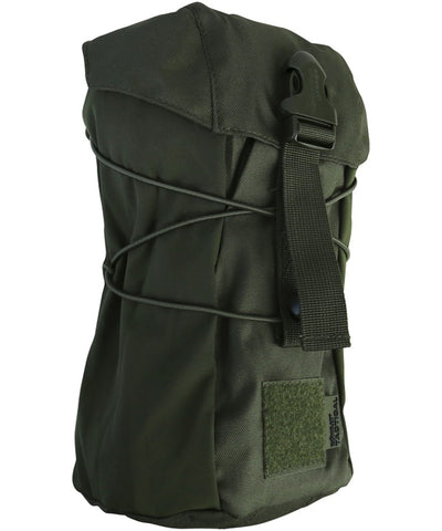 Stuffer pouch-Olive green. For storing wet clothing airsoft utility pouch