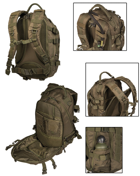 Lazer cut Mission pack-Large-Multitarn  Bag Mil-Tec - The Back Alley Army Store
