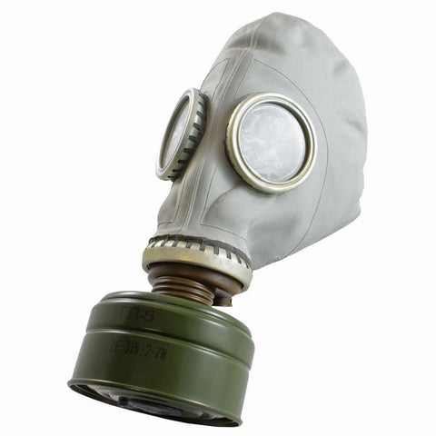 Soviet gasmask  masks Sourced by Back Alley - The Back Alley Army Store