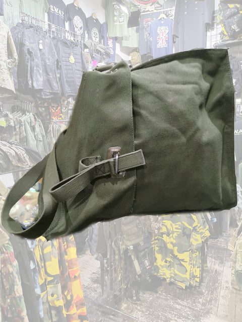 Swedish gas mask bag  Bag Sourced by Back Alley - The Back Alley Army Store