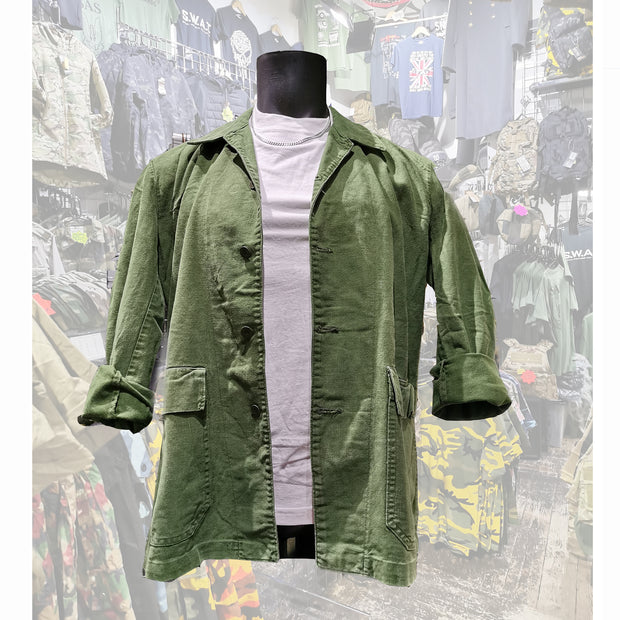 swedish workwear jacket olive