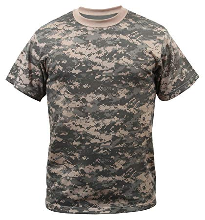 Digital Camo T-shirt S Clothing Sourced by Back Alley - The Back Alley Army Store
