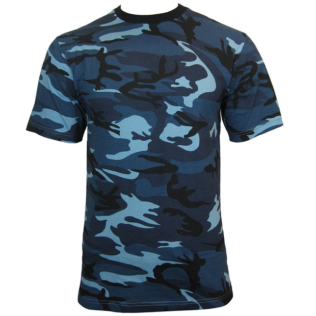 Midnight Blue Camo T-shirt