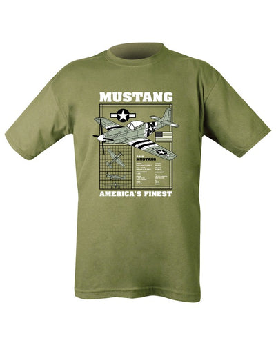mustang u.s airforce fighter plane ww2 airplane
