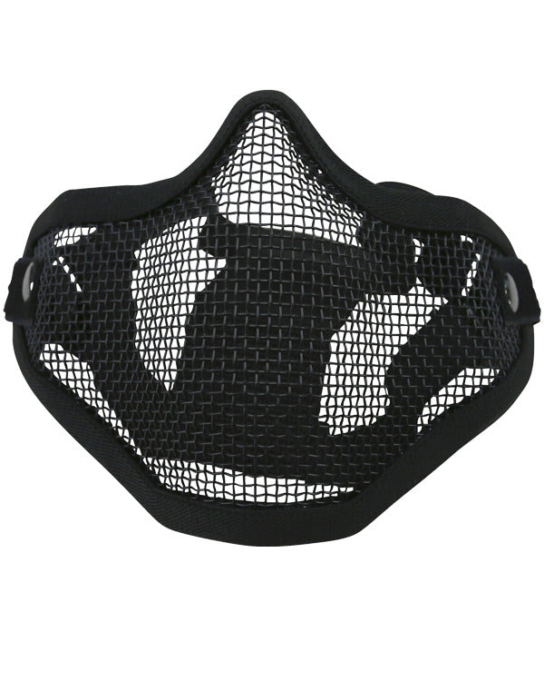 Tactical face mask-Black  Airsoft Kombat UK - The Back Alley Army Store
