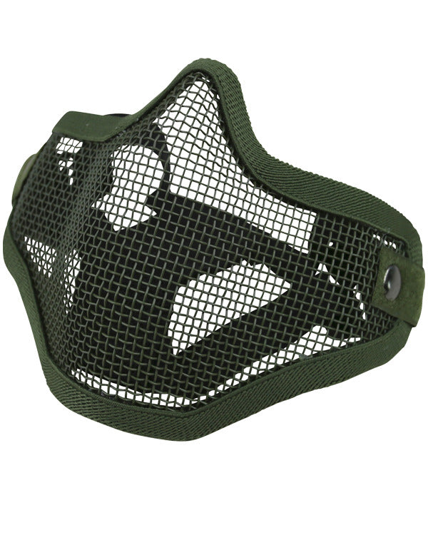 Tactical face mask-Olive  Airsoft Kombat UK - The Back Alley Army Store