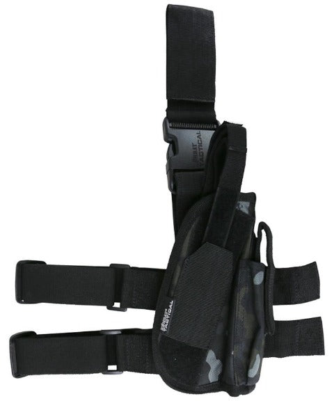 Tactical leg holster-BTP Black
