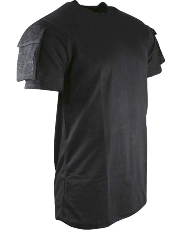 Tactical t-shirt-Black  Clothing Kombat UK - The Back Alley Army Store