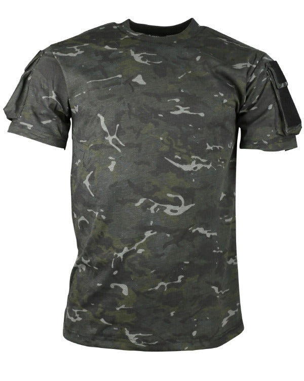 Tactical t-shirt-B.T.P Black  Clothing Kombat UK - The Back Alley Army Store